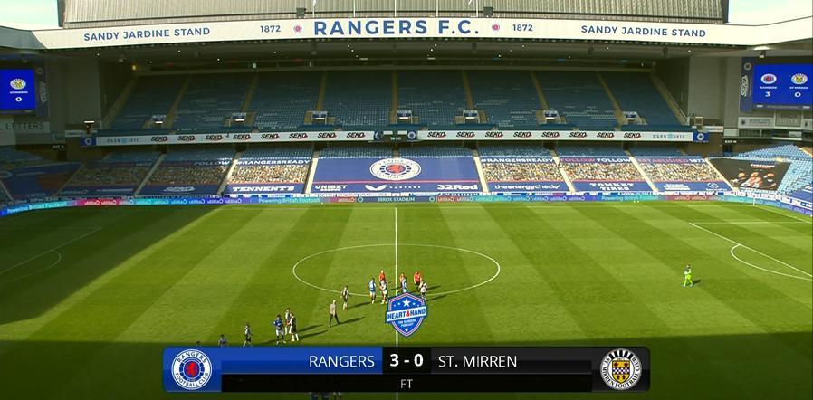 Match Ratings – Rangers 3-0 St Mirren
